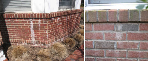 Efflorescence, brick, defects, brick defects, issues, brick issues