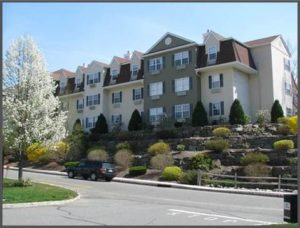 Exterior of Casual and comfortable condominiums